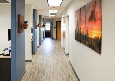 PeaceOf Mind Dental Office Hallway